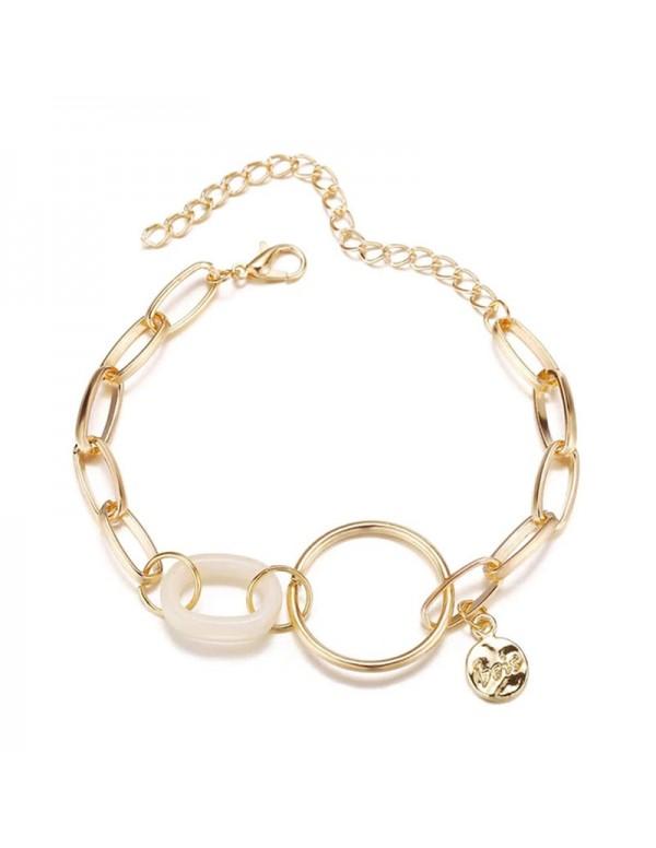 Jewels Galaxy Jewellery For Women Gold Plated Brac...
