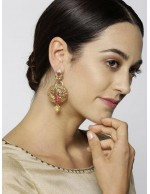 Jewels Galaxy Pink Antique Gold-Plated S...