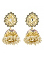 Jewels Galaxy Gold Plated Pearl studded ...