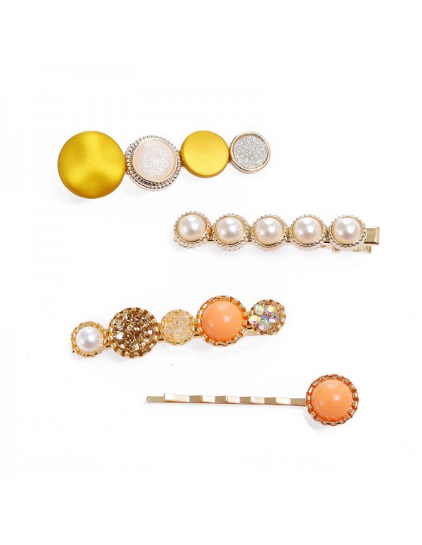 Jewels Galaxy Trendy Pearl Hair Clips Jewellery Fo...