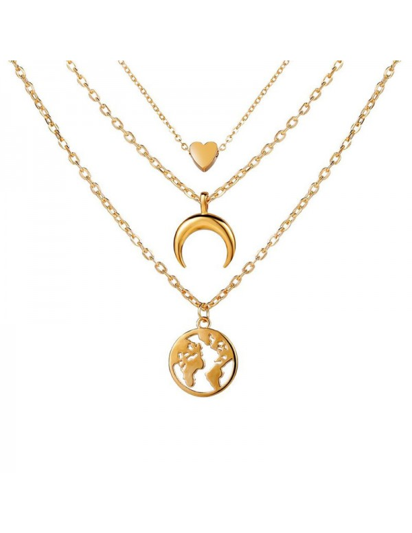 Jewels Galaxy Gold Plated Trending Globe Inspired ...