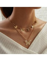 Jewels Galaxy Gold Plated Butterfly Insp...