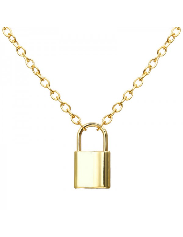 Jewels Galaxy Mesmerizing Lock Design Gold Plated ...