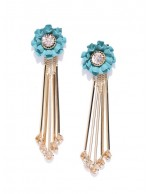 Turquoise Blue Gold-Plated Handcrafted F...