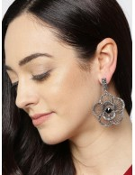 Oxidized Silver-Plated Handcrafted Flora...