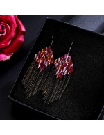Jewels Galaxy Black & Red Gold-Plate...