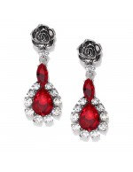 Jewels Galaxy Oxidized Silver-Toned &...