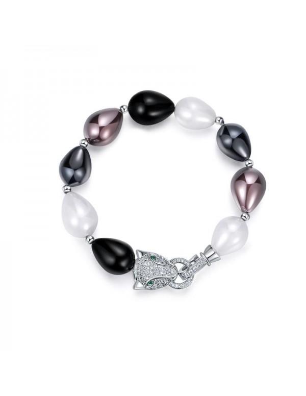 Designs By Jewels Galaxy American Diamond Rhodium ...