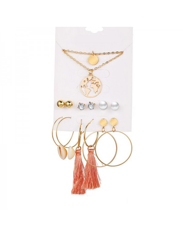 Jewels Galaxy Limited Edition Set of 6 Gold Plated...