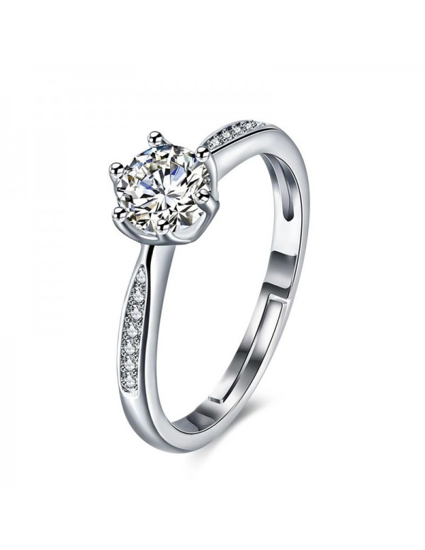 Jewels Galaxy Silver-Plated Stone Studded Handcraf...