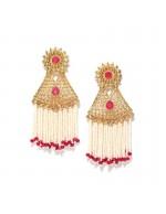 Jewels Galaxy Gold Plated Traditional Ru...