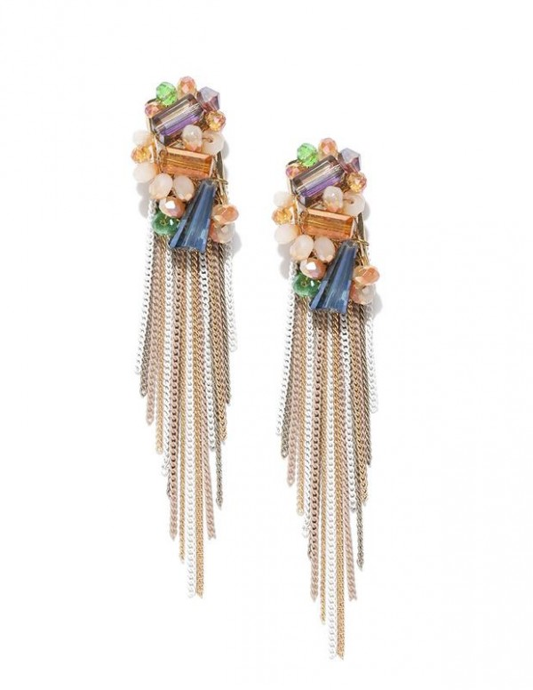 Exclusive Luxuria Onyx Designer Multicolor Tassel ...