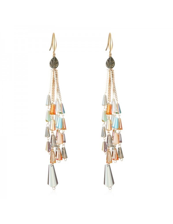 Jewels Galaxy Multicoloured Contemporary Drop Earr...