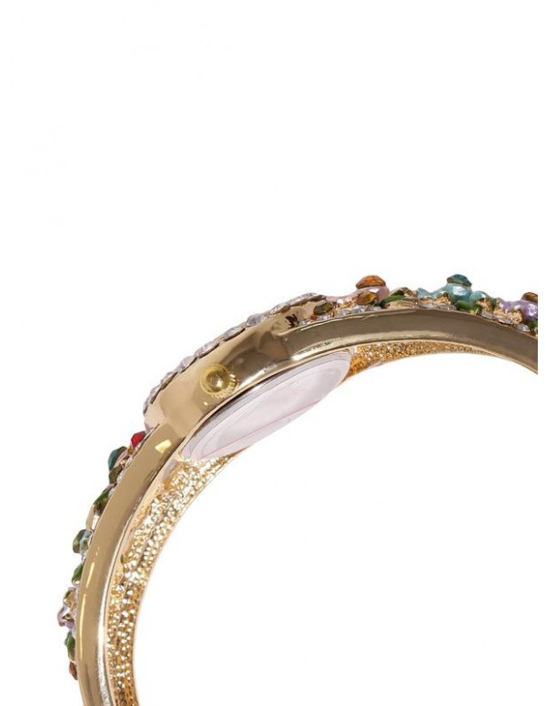 Jewels Galaxy Multicoloured Gold-Plated Handcrafted Bracelet